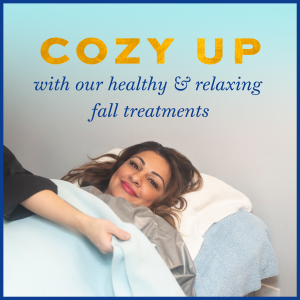 cozy up to fall specials