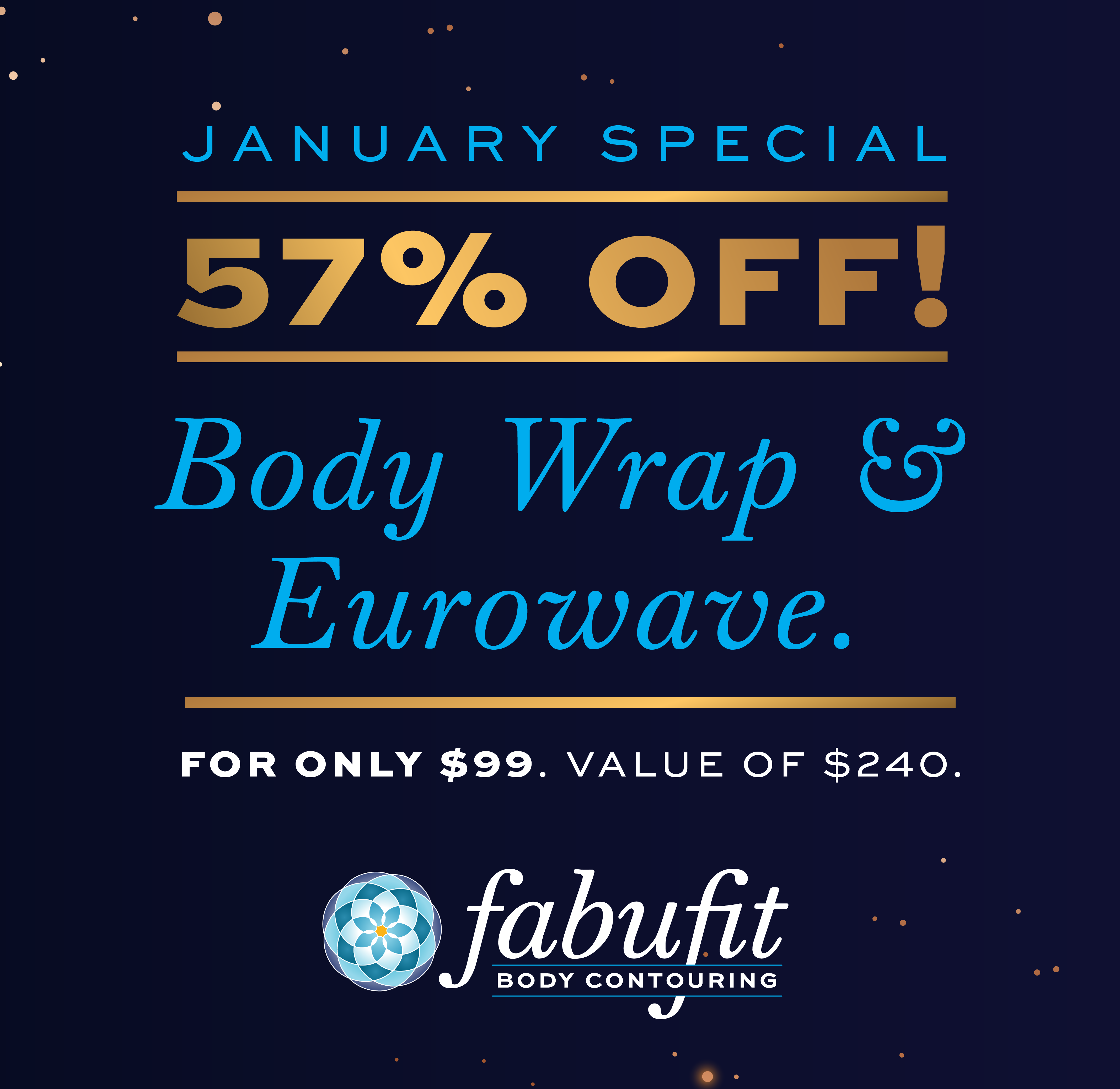 January Special on Eurowave & Bodywraps!