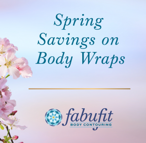 Spring savings on body wraps on easter colours